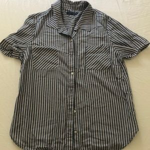 Tommy Hilfiger Women's Striped Shirt, Size Small